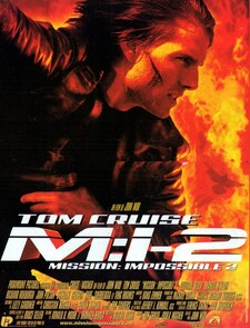 Mission: Impossible 2 BOX OFFICE FRANCE 2000