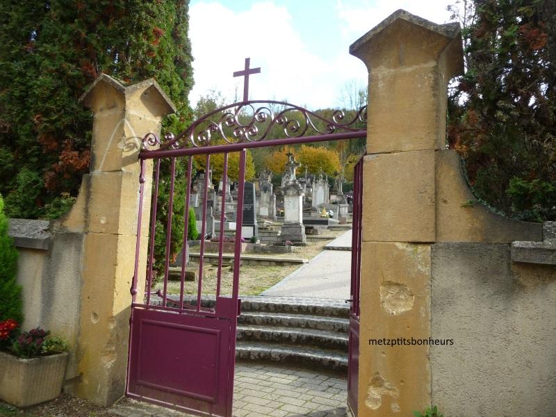 Petit tour au cimetière..;