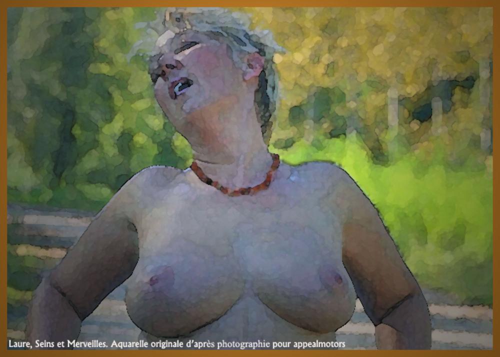 Laure et ses aquarelles