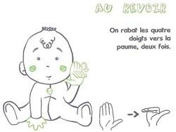 Bébé signe : Bébé apprend la politesse grâce à la langue des signes