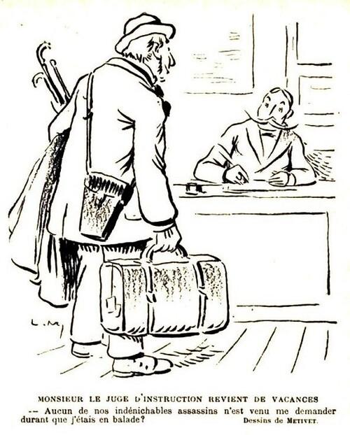 Juges et avocats dans le journal Le Rire (2/7)