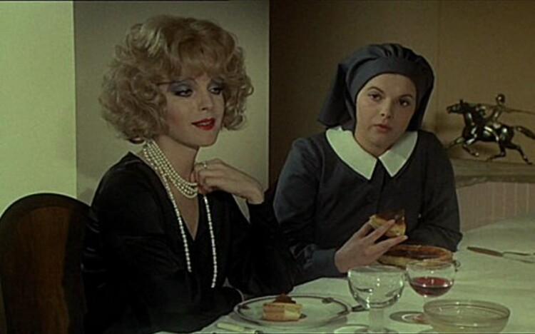 ROMY SCHNEIDER - MICHEL PICCOLI - LE TRIO INFERNAL - 1974