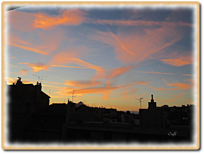 Le ciel, un soir
