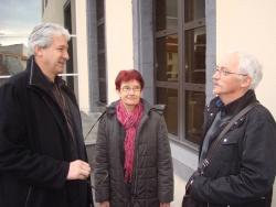 avec Pascal ESTIER, maire des Ancizes-Comps, membre du comité de soutien