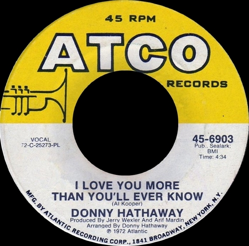 "Donny Hathaway : Album "" Extention Of A Man "" Atco Records Records SD 7029 [ US ]"