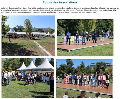 Forum des Associations à la Mairie du 9-10