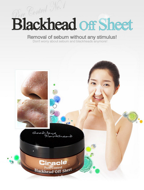 Ciracle - Good bye les point-noirs avec les Blackhead Off Sheets