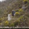 Arrivée à la borne frontière des Pyrénées numéro 1