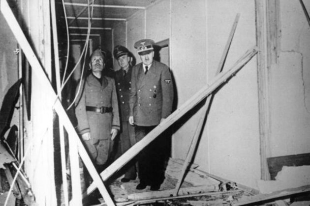 Hitler victime d'un attentat