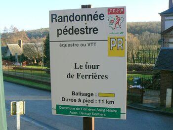 Le tour de Ferrières