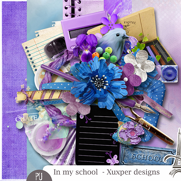 IN MY SCHOOL by Xuxper Designs