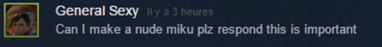 Miku Miku Dance bientôt sur Steam ?