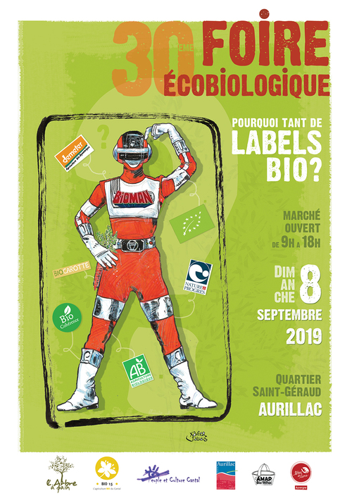 08 Septembre 2019  Foire Eco Biologique AURILLAC  (15)