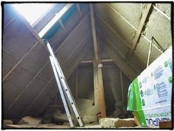 Suite isolation combles, électricité et lambourdes