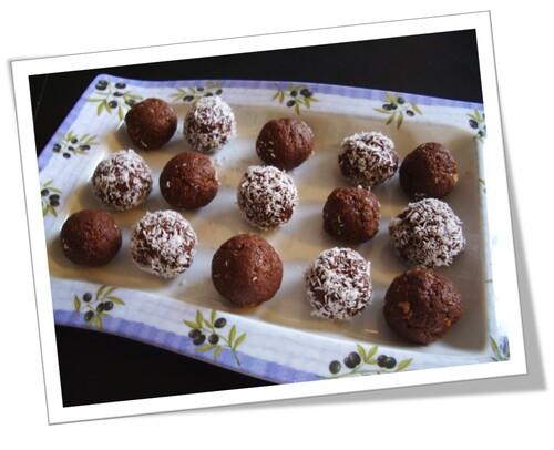 Truffes nutella