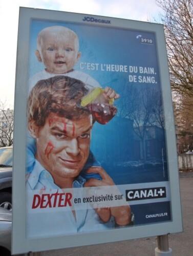 affiche Dexter canal + enfant 1