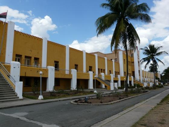 la caserne Moncada à Santiago de Cuba