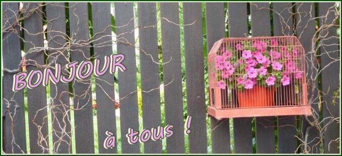 """Des fleurs ..."""" tout simplement"""" ..."""
