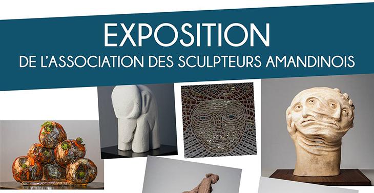Exposition de sculptures, à Saint-Amand les Eaux du 22 au 24 avril