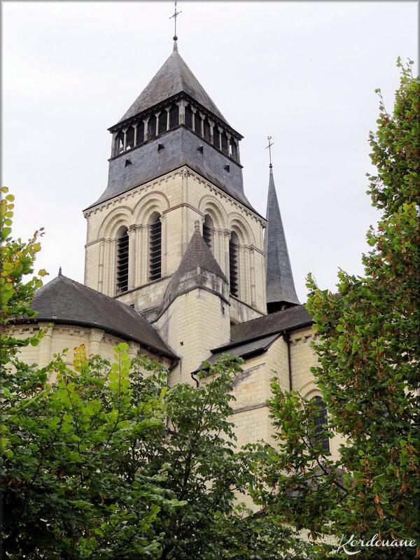 Photo du clocher de l'Abbaye Notre Dame de Fontevraud