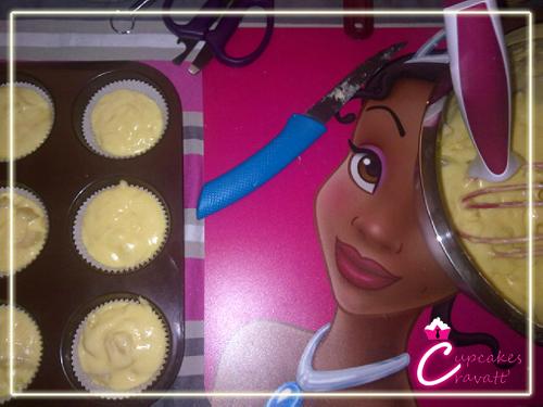 cupcake poire/amandes