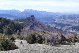 16 avril 2019 - La Butte de l'Aigle et la montagne de Gavet