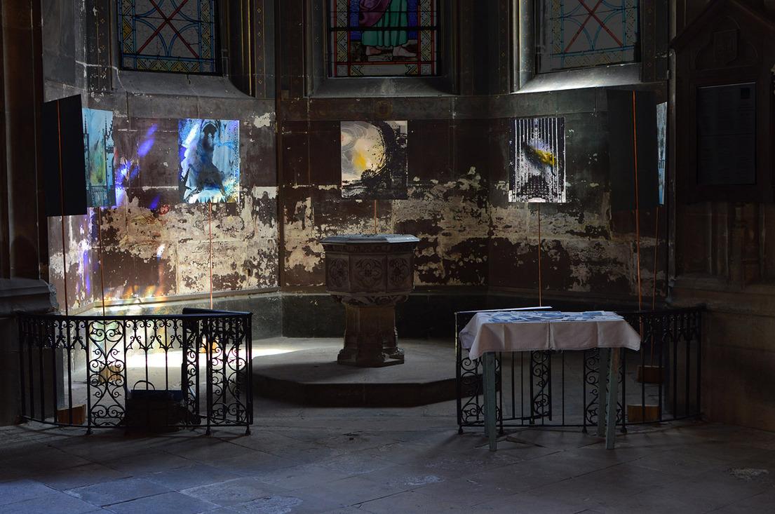 """Expo """"vision de l'église St-Bernard"""", juin 2017"""