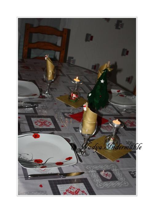 Déco de table de Noel