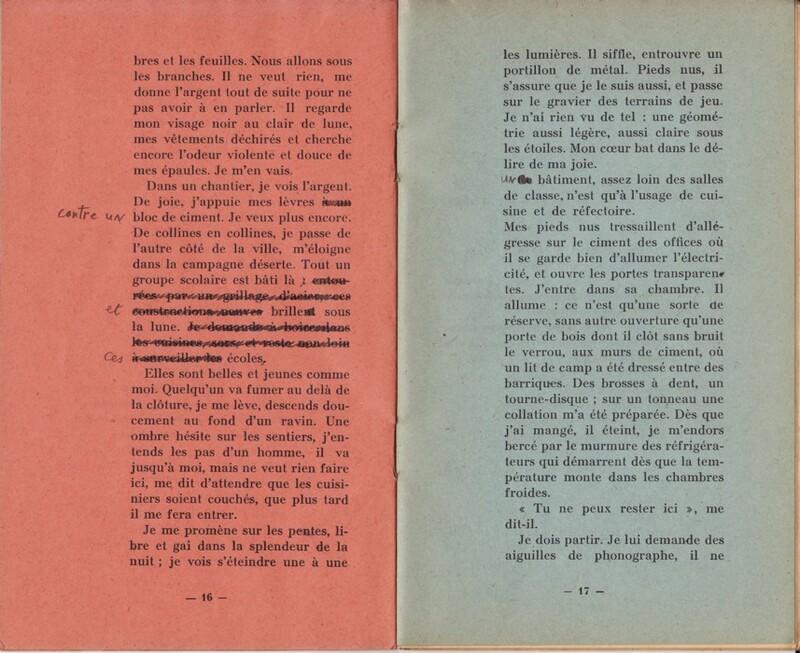 Lettre à François Augieras.
