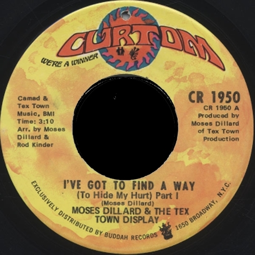 1971 : Single SP Curtom Records CR 1950 [ US ]