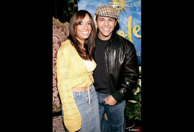 Faudel et Anissa en 2005 à Paris