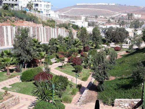 Vue sur un jardin de Sidi Idni