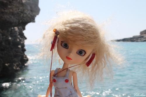 une belle plage de galet ♥