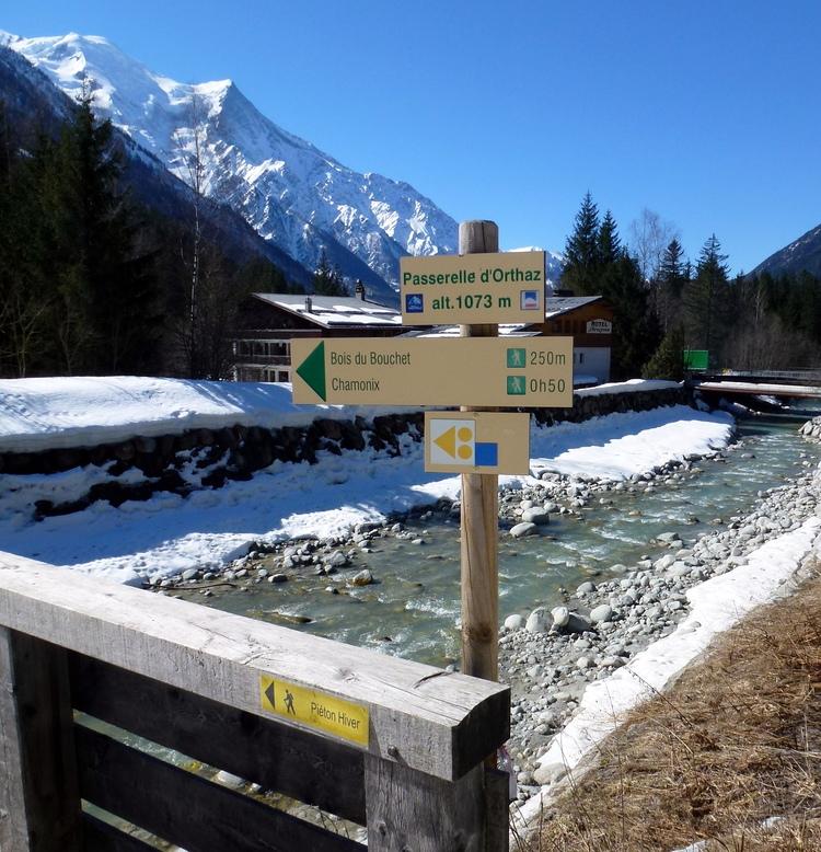 Balade aux Praz de Chamonix....