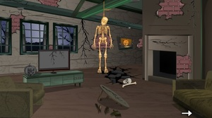 Jouer à Escape Game - Skeleton house escape