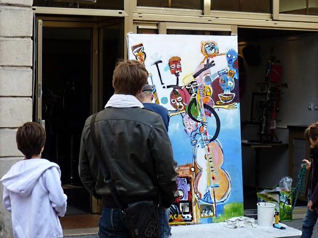 Artiste de rue à Metz 3 Marc de Metz 2011