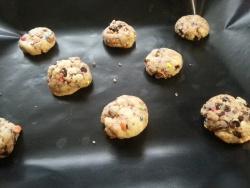 Les cookies aux M&M's