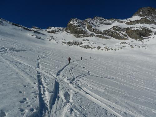 Glacier et col du Grand Etret