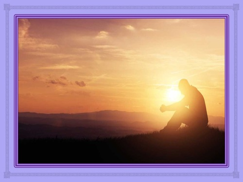 Priez sur la montagne