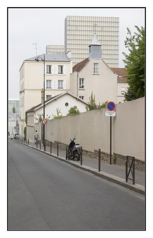 Rue Charcot et les folies urbanistiques de Paris Rive Gauche.