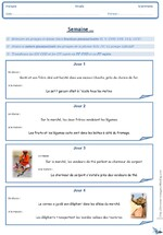 Rituels de grammaire - Classe de 5ème