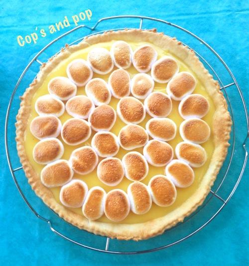 ♥ Tarte au citron meringuée de chamallow ♥