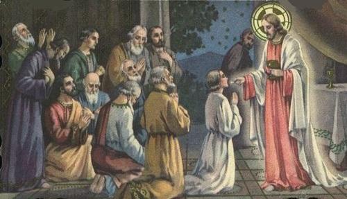 Ta flamme, Jésus, se désirant Lumière....