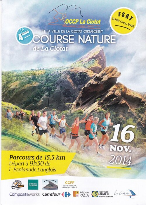 Flyer Course nature 2014