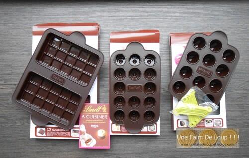 Tefal Proflex - gamme moules pour chocolats