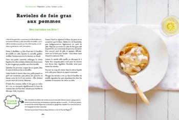Ceci n'est pas une pomme Solar Guilaine de Seze Ravioles de foie gras aux pommes