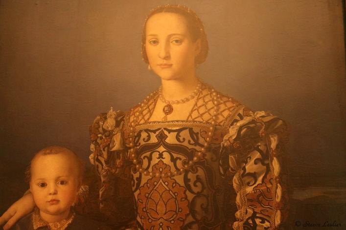 Portrait d'Éléonore de Tolède et son fils Giovanni de Medicis