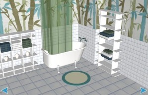 Step by step bathroom escape