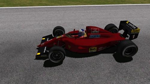 Ferrari 641/2 - Ferrari 036 3.5 V12