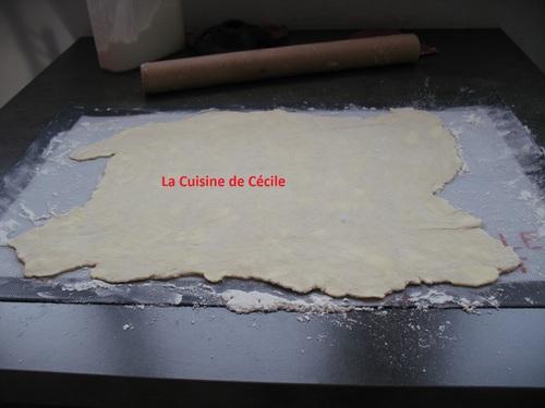 "Pâte feuilletée ""escargot"""